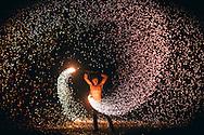 koh samui fire show lamai beach
