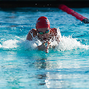 02 December 2016: The San Diego State Aztecs Swimming team hosted Pepperdine Friday afternoon at the SDSU Aquaplex. Event 5 100 Yard Breaststroke  www.sdsuaztecphotos.com