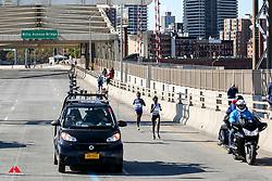 Mary Keitany, KEN, Ruti Aga, ETH<br /> Willis Avenue bridge<br /> TCS New York City Marathon 2019
