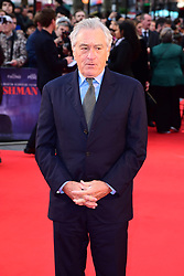 Robert de Niro attending the Closing Gala and International premiere of The Irishman, held as part of the BFI London Film Festival 2019, London.