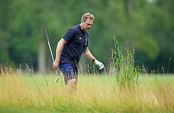 SOUTH BEND, INDIANA, USA - Wednesday, July 17, 2019: Liverpool's Club Ambassador Jason McAteer plays golf at the Warren Golf Club at Notre Dame University on day two of the club's pre-season tour of America. (Pic by David Rawcliffe/Propaganda)