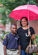 First day of school at Baylor College of Medicine Academy at Ryan.