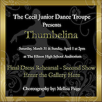 Thumbelina - Final Dance Rehearsal - Second Show (03-30-2012)
