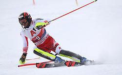 26.01.2020, Streif, Kitzbühel, AUT, FIS Weltcup Ski Alpin, Slalom, Herren, 1. Lauf, im Bild Michael Matt (AUT) // Michael Matt (AUT) in action during his 1st run in the men's Slalom of FIS Ski Alpine World Cup at the Streif in Kitzbühel, Austria on 2020/01/26. EXPA Pictures © 2020, PhotoCredit: EXPA/ SM<br /> <br /> *****ATTENTION - OUT of GER*****