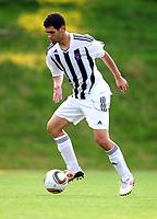 Fotball<br /> Foto: imago/Digitalsport<br /> NORWAY ONLY<br /> <br /> Partizan Beograd<br /> <br /> 01.07.2010<br /> ANGERBERG, Testspiel, KKS Lech Posen - FK Partizan Belgrad, Aleksandar Miljkovic (Partizan).