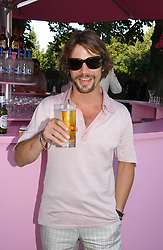 JAY KAY at the Serpentine Gallery Summer party sponsored by Yves Saint Laurent held at the Serpentine Gallery, Kensington Gardens, London W2 on 11th July 2006.<br />