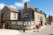 Isles of Scilly, 22 May 2009: View of the Atlantic Hotel, Hugh Town on St Mary's. Photo by Peter Horrell / http://peterhorrell.com
