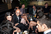 DSquared2 Launch of their Classic collection. Tramp. Jermyn St. London. 29 June 2011. <br /> <br />  , -DO NOT ARCHIVE-© Copyright Photograph by Dafydd Jones. 248 Clapham Rd. London SW9 0PZ. Tel 0207 820 0771. www.dafjones.com.
