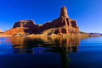 Gunsight Butte, Lake Powell, Glen Canyon National Recreation Area, Arizona/Utah border USA