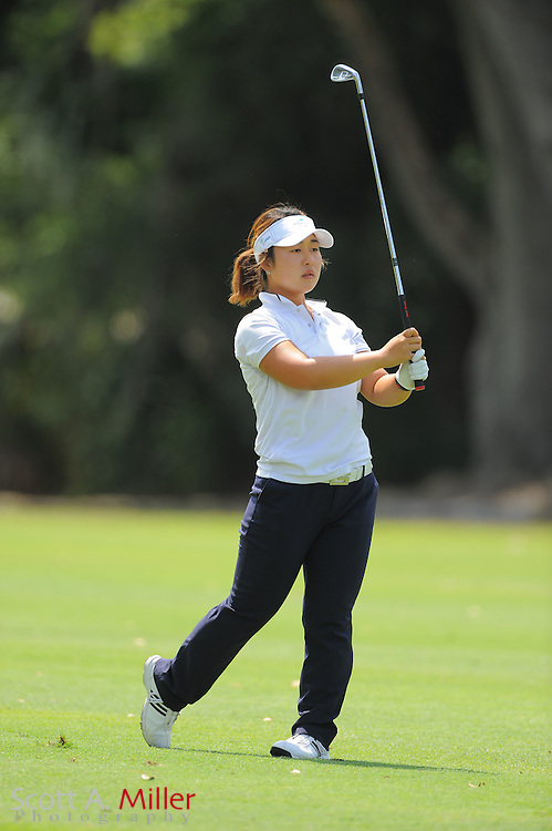 Alice H. Kim during the final round of the Symetra Tour's Florida's Natural Charity Classic at the Lake Region Yacht and Country Club on March 25, 2012 in Winter Haven, Fla. ..©2012 Scott A. Miller.