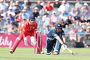 Derbyshires Daryn Smit (Wicket Keeper) during the Vitality T20 Blast North Group match between Lancashire Lightning and Derbyshire Falcons at the Emirates, Old Trafford, Manchester, United Kingdom on 14 July 2018. Picture by George Franks.