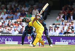 June 13, 2018 - London, England, United Kingdom - Glenn Maxwell of Australia.during One Day International Series match between England and Australia at Kia Oval Ground, London, England on 13 June 2018. (Credit Image: © Kieran Galvin/NurPhoto via ZUMA Press)