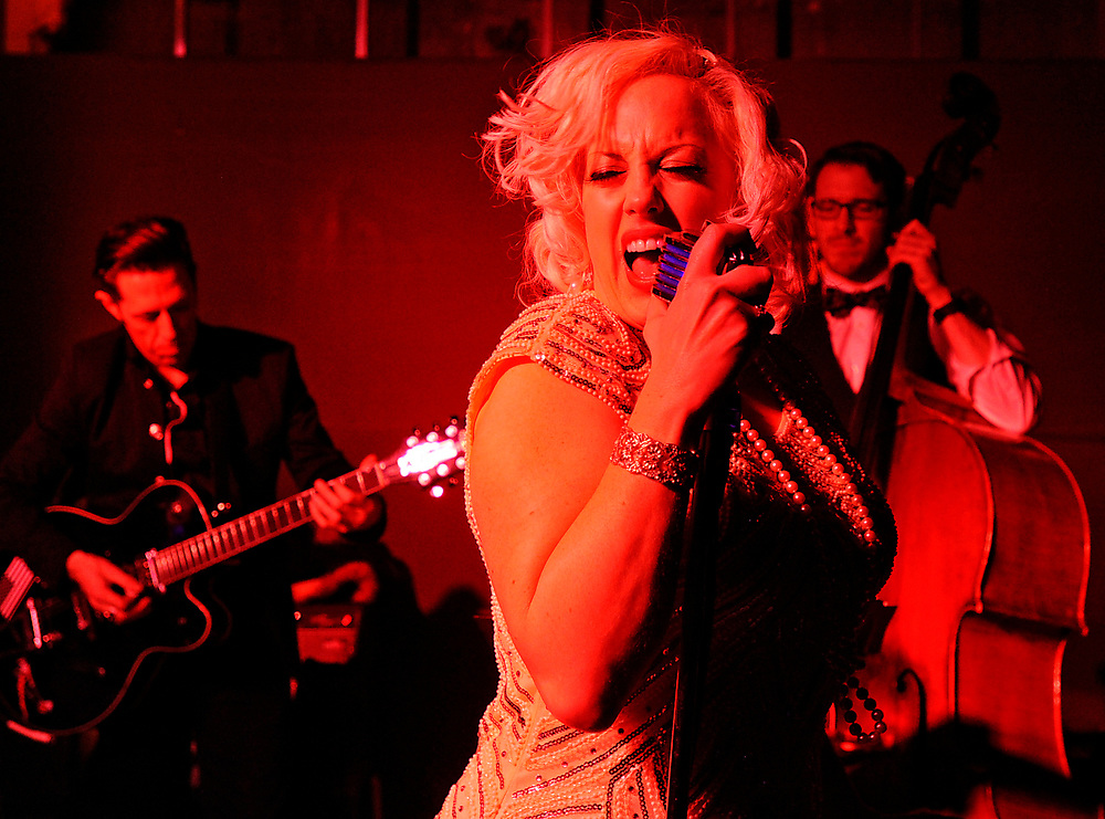 Niki Luparelli and the Gold Diggers provided the entertainment for the Downtown Underground Speakeasy popup hosted by Pulse Magazine on Saturday, March 19, 2016.