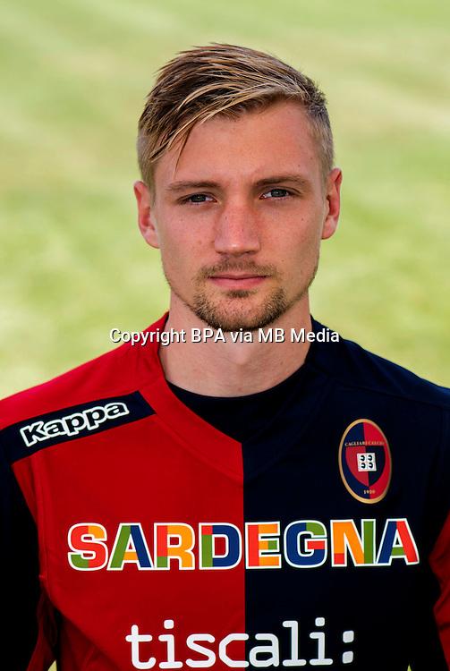 Italian League Serie A -2014-2015 / <br /> Sebastian Eriksson ( Cagliari Calcio )