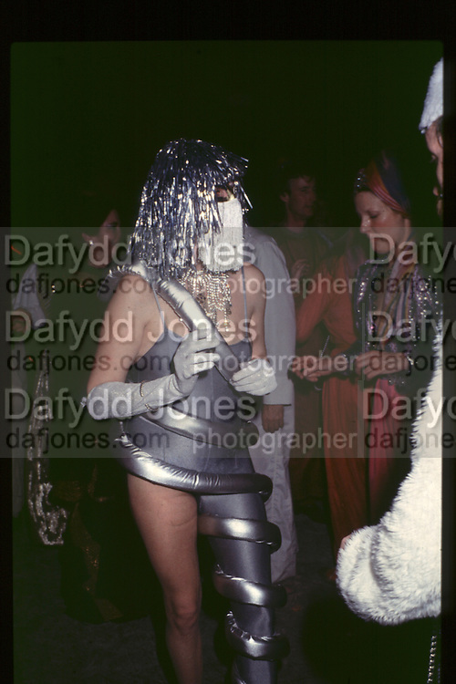 Lady Rose Yorke, Fancy dress party at Christies, 1984  approx© Copyright Photograph by Dafydd Jones 66 Stockwell Park Rd. London SW9 0DA Tel 020 7733 0108 www.dafjones.com