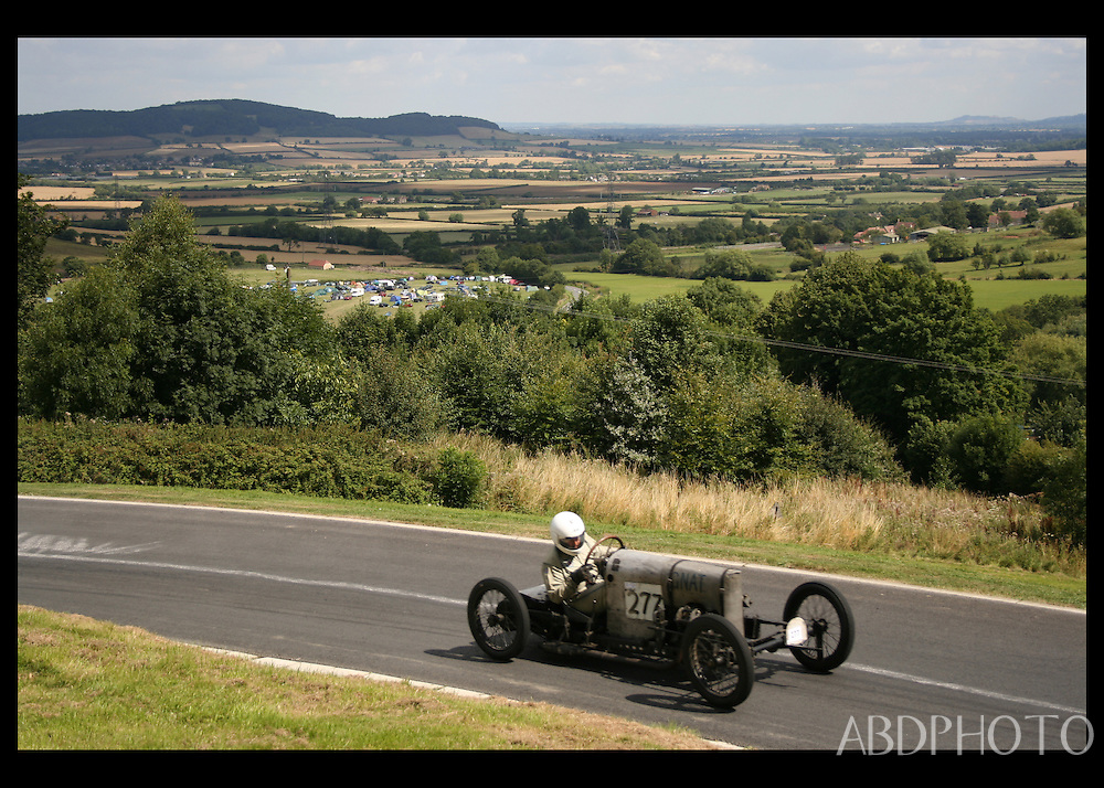 Bugatti Prescott Speed Hill Climb Cheltenham UK