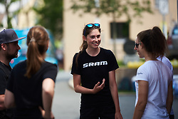 Christa Riffel (GER) at Lotto Thuringen Ladies Tour 2018 - Stage 3, a 131 km road race starting and finishing in Schleiz, Germany on May 30, 2018. Photo by Sean Robinson/Velofocus.com