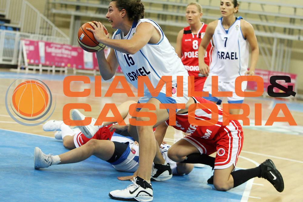 DESCRIZIONE : Lanciano Italy Italia Eurobasket Women 2007 Additional Qualifying Tournament Israel Poland Israele Polonia<br /> GIOCATORE : Jennifer Ann Fleischer<br /> SQUADRA : Israel Israele<br /> EVENTO : Eurobasket Women 2007 Campionati Europei Donne 2007<br /> GARA : Israel Poland Israele Polonia<br /> DATA : 20/09/2007<br /> CATEGORIA : <br /> SPORT : Pallacanestro <br /> AUTORE : Agenzia Ciamillo-Castoria/E.Castoria <br /> Galleria : Eurobasket Women 2007<br /> Fotonotizia : Lanciano Italy Italia Eurobasket Women 2007 Additional Qualifying Tournament Israel Poland Israele Polonia<br /> Predefinita :