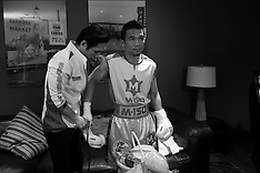 February 24, 2018: Srisaket Sor Rungvisai vs Juan Francisco Estrada Dressing Rooms