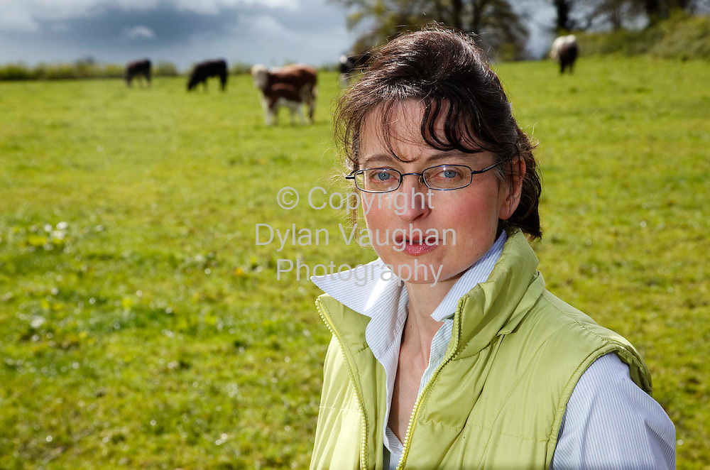 27/4/2009.Eileen Phelan pictured on the farm near Johnstown County Kilkenny.Picture Dylan Vaughan