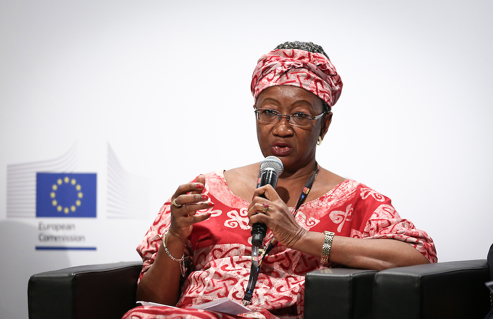 03 June 2015 - Belgium - Brussels - European Development Days - EDD - Urban - Sustainable cities - Good for the global North , but not the global South? - Clara Doe Mvogo , Mayor of Monrovia , Liberia © European Union