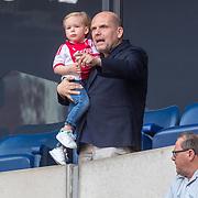 NLD/Amsterdam/20180408 - Ajax - Heracles, Jaap van Zweden en kleinkind Raphael