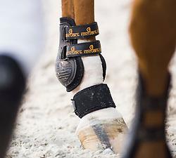 Tendon boots<br /> Laiterie de Montaigu Trophy<br /> Longines Masters Paris 2016<br /> © Hippo Foto - Cara Grimshaw