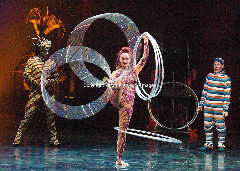 CIRQUE DU SOLEIL - KOOZA, Royal Albert Hall, Kensington Gore, London, Great Britain, January 4, 2013. Photo by Elliott Franks / i-Images.