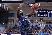 Dustin Hogue<br /> Dolomiti Energia Aquila Basket Trento - Consultinvest Victoria Libertas Pesaro<br /> Lega Basket Serie A 2016/2017<br /> Trento, 26/03/2017<br /> Foto M. Ceretti / Ciamillo - Castoria