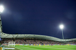 Stadium during First Leg football match between NK Maribor and FC Astana in Second qualifying round of UEFA Champions League, on July 14, 2015 in Stadium Ljudski vrt, Maribor, Slovenia. Photo by Vid Ponikvar / Sportida