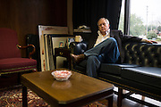 Mike Miller poses for a portrait at his office in Marshall, Texas on January 9, 2015. Miller is 55-years-old and planning on retiring from his law practice to concentrate on his health and happiness at the end of the month. (Cooper Neill for The New York Times)