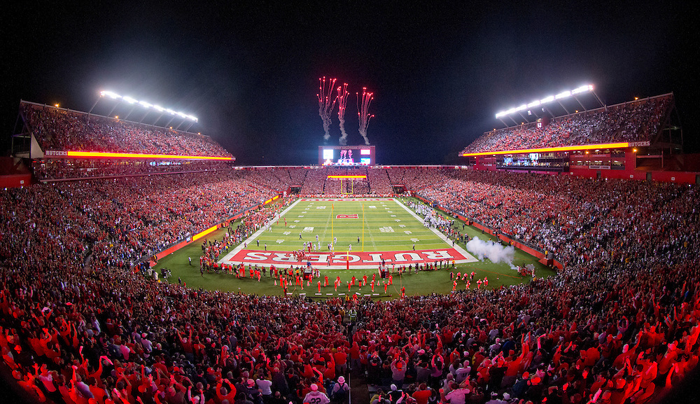 The Rutgers Scarlet Knights take on the Penn State Nittany Lions at HighPoint Solutions Stadium in Piscataway, NJ on Saturday night, September 13, 2014.<br />