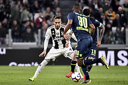 March 8, 2019 - Torino, Torino, Italia - Foto LaPresse - Marco Alpozzi.8 Marzo 2019 Torino, Italia .Sport.Calcio.Juventus Vs Udinese - Campionato di calcio Serie A TIM 2018/2019 - Allianz Stadium..Nella foto: Martin Caceres (Juventus F.C.);..Photo LaPresse - Marco Alpozzi.March 08, 2019 Turin, Italy.sport.soccer.Juventus Vs Udinese- Italian Football Championship League A TIM 2018/2019 - Allianz Stadium.In the pic:Martin Caceres  (Credit Image: © Marco Alpozzi/Lapresse via ZUMA Press)