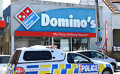 Welington-Armed robbery of Northland Pizza shop