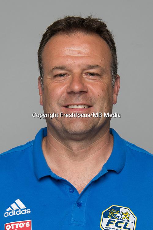 10.07.2017; Luzern; FUSSBALL SUPER LEAGUE - FC Luzern;<br /> Assistenztrainer Patrick Rahmen (Luzern) <br /> (Martin Meienberger/freshfocus)