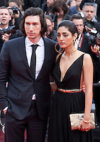 Actor Adam Driver, Actress Golshifteh Farahani at the gala screening for the film Paterson at the 69th Cannes Film Festival, Monday 16th May 2016, Cannes, France. Photography: Doreen Kennedy