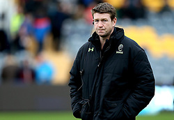 Worcester Warriors' head coach, Carl Hogg - Mandatory by-line: Robbie Stephenson/JMP - 28/01/2017 - RUGBY - Sixways Stadium - Worcester, England - Worcester Warriors v Harlequins - Anglo Welsh Cup