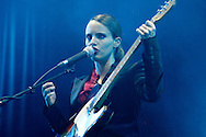 Anna Calvi performing at 36th Paleo Festival, Switzerland.