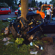 Ongeval met beknelling Blaricummerstraat Huizen