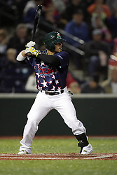 27May2011: Brad Agustin during a game between the Southern Illinois Miners and the Normal Cornbelters at the Corn Crib in Normal Illinois.