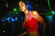 Girl dancing, Club Base, Brazil, 2000's