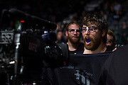 DALLAS, TX - MARCH 14:  Jake Lindsey walks to the octagon before his fight with Joseph Duffy during UFC 185 at the American Airlines Center on March 14, 2015 in Dallas, Texas. (Photo by Cooper Neill/Zuffa LLC/Zuffa LLC via Getty Images) *** Local Caption *** Jake Lindsey
