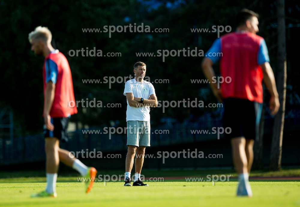 Srecko Katanec, head coach during practice session of Slovenian National Football Team before Euro 2016 Qualifications match against England, on June 10, 2015 in Kranj, Slovenia. Photo by Vid Ponikvar / Sportida