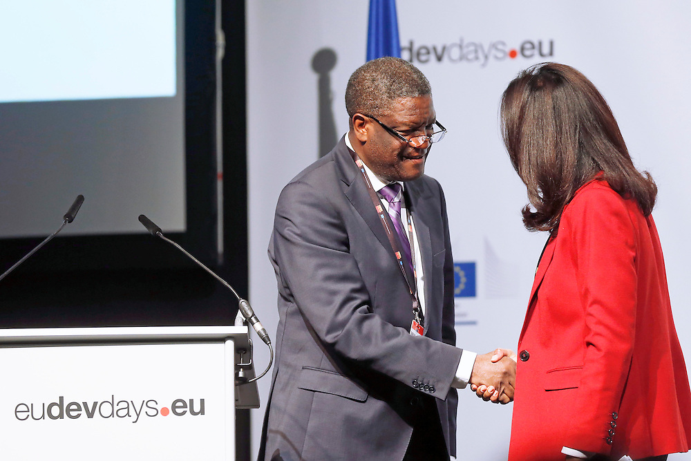 04 June 2015 - Belgium - Brussels - European Development Days - EDD - Closing Panel - From development aid to international Cooperation - Dr Denis Mukwege, Founder and Medical Director, Panzi Hospital, DRC © European Union