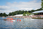 Henley Royal Regatta, Henley on Thames, Oxfordshire, 28 June - 2 July 2017.  Saturday  16:08:03   01/07/2017  [Mandatory Credit/Intersport Images]<br /> <br /> Rowing, Henley Reach, Henley Royal Regatta.<br /> <br /> The Princess Elizabeth Challenge Cup<br />  Scotch College, Melbourne, Australia v  Eton College