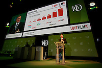 .Institute of Directors Annual Convention 2010.Simon Calver  speaking at the convention....