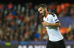 November 5, 2019, Valencia, Valencia, Spain: Jose Luis Gaya of Valencia during the during the UEFA Champions League group H match between Valencia CF and Losc Lille at Estadio de Mestalla on November 5, 2019 in Valencia, Spain (Credit Image: © AFP7 via ZUMA Wire)
