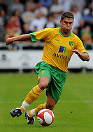 Dartford - Saturday July 11 2009: Scott Neilson of Norwich City in action against Dartford during the friendly match at Princes Park. (Pic by Alex Broadway/Focus Images)..
