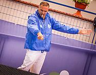Arbitro Riccardo d' Antoni<br /> NC Milano (white cap) Vs SIS Roma (Blue Cap)<br /> Finale V Posto<br /> FIN Final Six Pallanuoto Femminile 2017<br /> Rapallo (GE) <br /> 12  Maggio 2017<br /> Photo P. Mesiano/Insidefoto/Deepbluemedia
