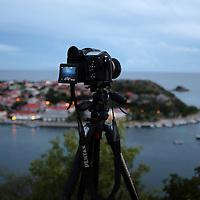 Prises de vues dans les hauteurs de Gustavia -Saint-Barthélémy.